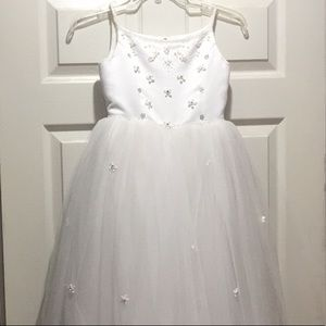 David's Bridal flower girl gown. Size 8